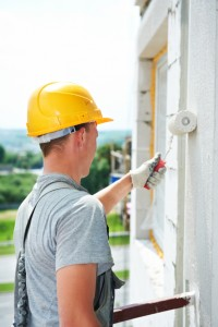 builder facade painter worker