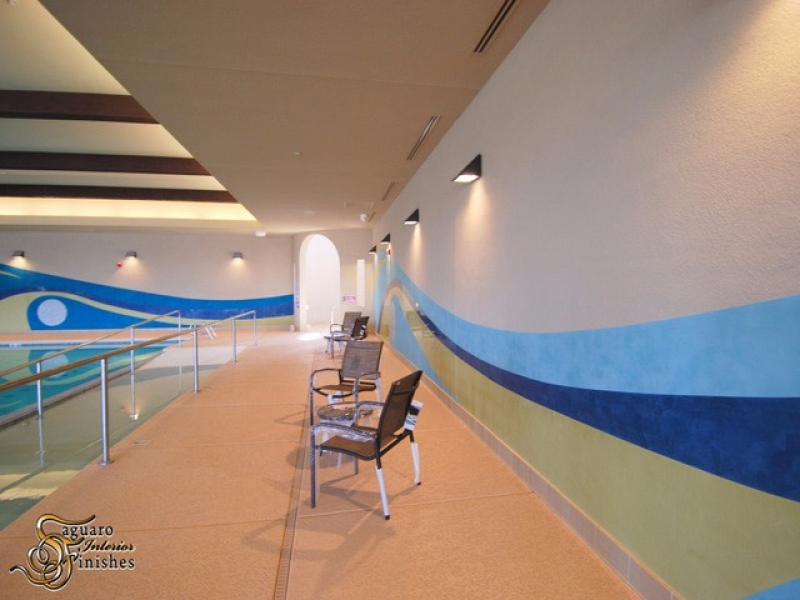 Cantamia Community Center Pool Mural