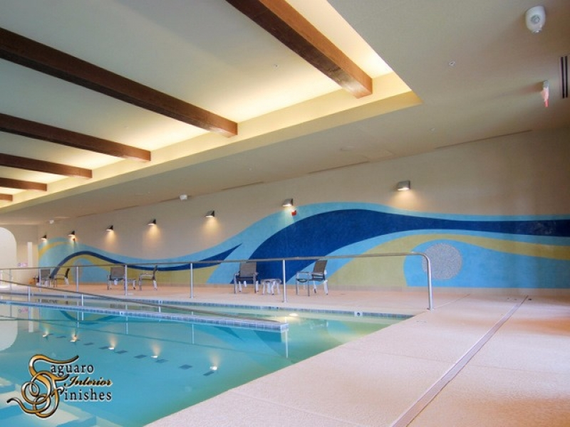 Cantamia Community Center Pool Mural